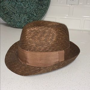 Bad-ass brown fedora sz M/L from Banana Republic